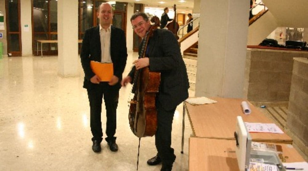 Paul and Huw Watkins